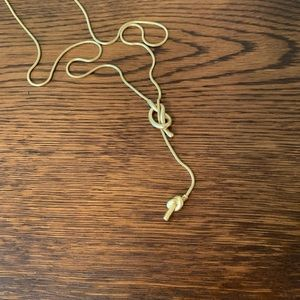 Madewell Jewelry - Madewell Knotshine Necklace